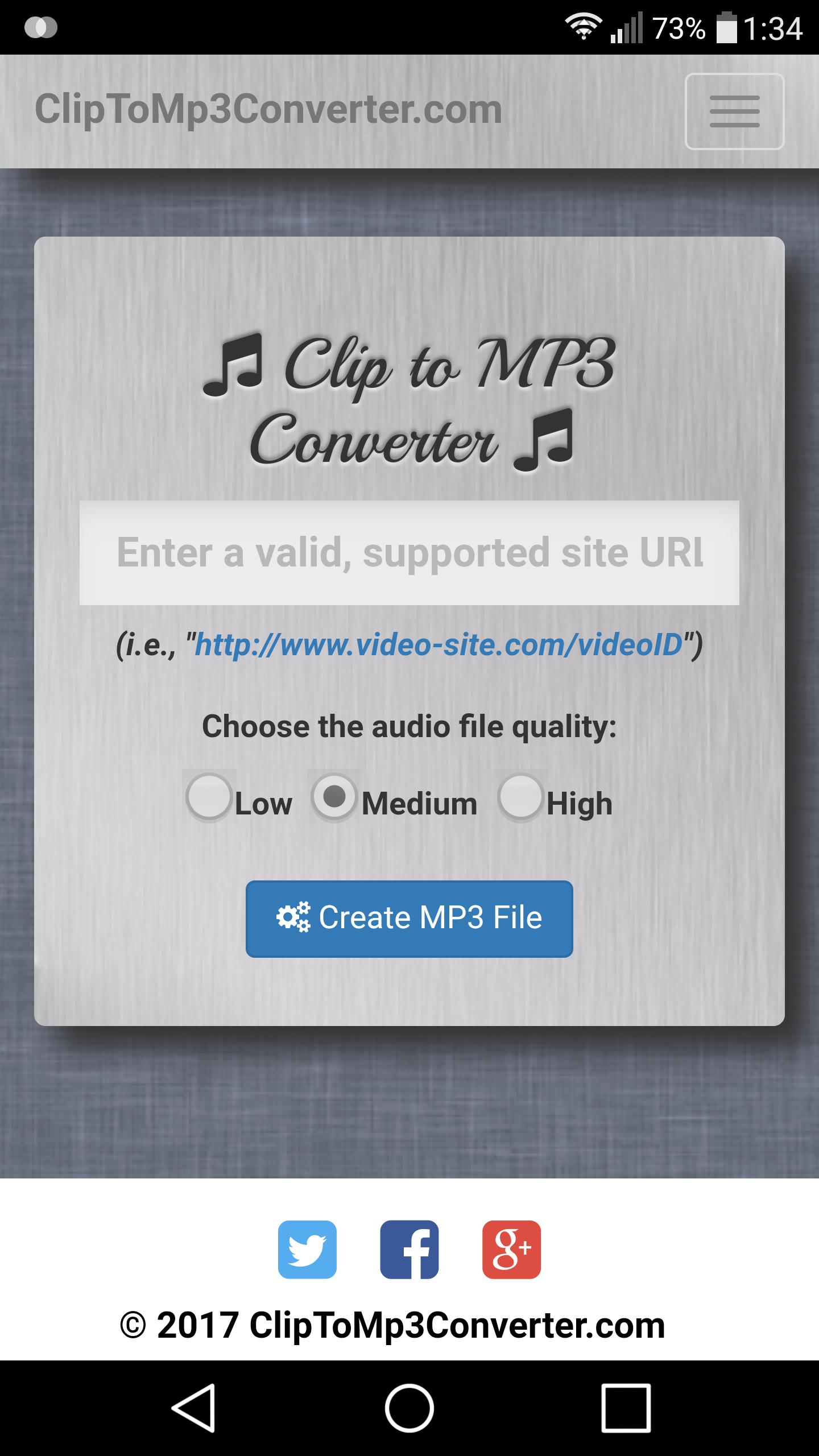 Clip Converter App